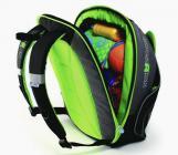 Podstawka podwyższająca i plecak 2w1 - zielony