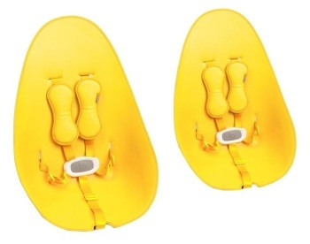 Zestaw startowy - krzesełko Fresco Chrome - żółty
