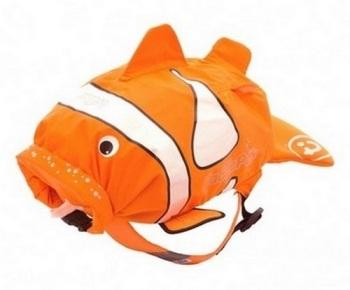 Plecak wodoodporny - ryba błazenek Chuckles