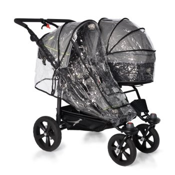 strollers - accessories - RAINCOVER - SINGLE SEAT - TWIN TRAIL