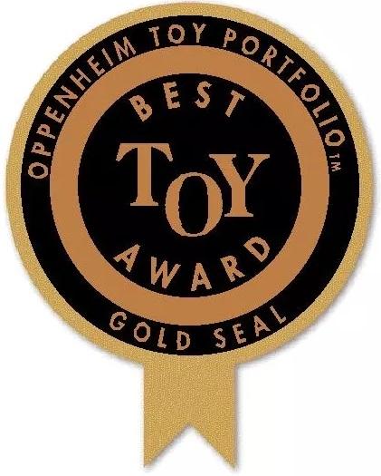 Oppenheim Toy Portfolio Gold Seal - Best Toy Award
