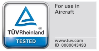 TÜV For use in aircraft