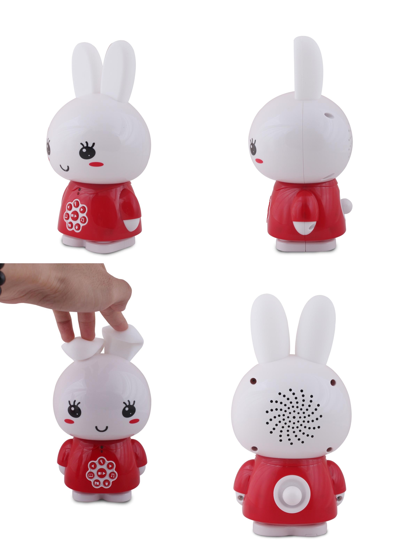 Króliczek Honey Bunny - czerwony Alilo