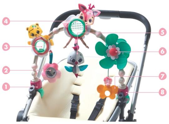 Łuk z zabawkami Świat Małej Księżniczki