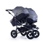 twin strollers - TWIN ADVENTURE2 QUIET SHADE