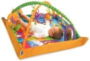 maty edukacyjne - Gimnastyka dla bobasa z pałąkami - Plac zabaw