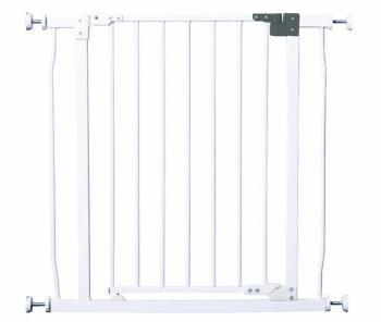 bramki bezpieczeństwa - Bramka bezpieczeństwa Liberty (W: 75-82cm x H: 76cm) - biała