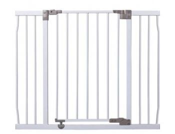 bramki bezpieczeństwa - Bramka bezpieczeństwa Liberty szeroka (W: 99-106cm x H: 76cm) - biała
