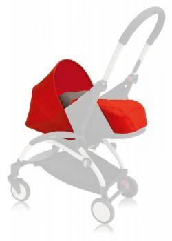 wózki  dziecięce - Zestaw kolorystyczny do gondoli Babyzen Yoyo 0+ - czerwony