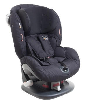foteliki  samochodowe - Fotelik samochodowy BeSafe iZi Comfort  X3 - czarny cab - 64