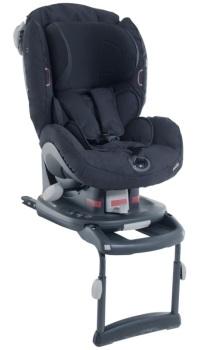 foteliki  samochodowe - Fotelik samochodowy BeSafe iZi Comfort X3 ISOfix - czarny cab - 64