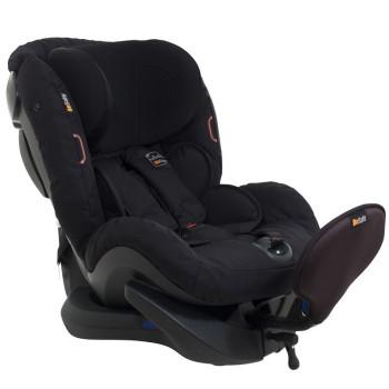 foteliki  samochodowe - Fotelik samochodowy BeSafe iZi Plus - czarny cab - 64