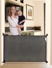 bramki bezpieczeństwa - Bramka zabezpieczająca Roll Up (W: 140cm x H: 75cm) - czarna