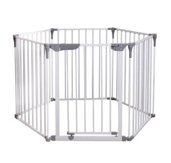 bramki bezpieczeństwa - Bramka bezpieczeństwa Royale Converta 3w1 - 74cm biała