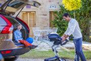 foteliki  samochodowe - Fotelik samochodowy Mima BeSafe iZi Go - British Green