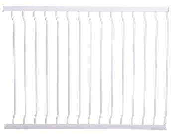 bramki bezpieczeństwa - rozszerzenia - Rozszerzenie bramki bezpieczeństwa Liberty - 100cm (wys. 76cm) - białe