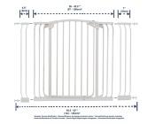 bramki bezpieczeństwa - Zestaw Combo-bramka Chelsea (W:97-106cm x H:1m)+rozszerzenia 9cm, 18cm