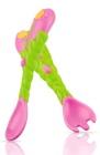 Sztućce: widelec i łyżka - Kwiat