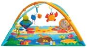 maty edukacyjne - Gimnastyka dla bobasa z pałąkami - Podwodny świat