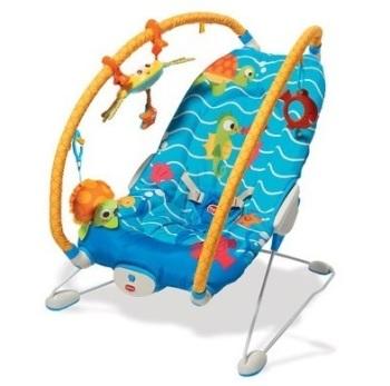 leżaczki - Leżaczek wibrujący - Podwodny świat