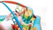 maty edukacyjne - Gimnastyka dla bobasa z pałąkami - Miejskie Safari