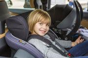 foteliki  samochodowe - Fotelik samochodowy BeSafe iZi Modular i-Size - czarny melange - 01