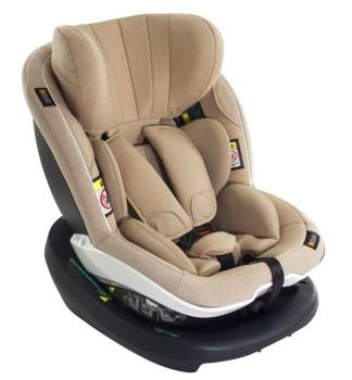 foteliki  samochodowe - Fotelik samochodowy BeSafe iZi Modular i-Size - kość słoniowa - 03