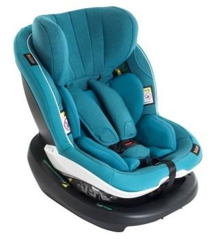foteliki  samochodowe - Fotelik samochodowy BeSafe iZi Modular i-Size-oceaniczny melange-08