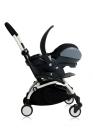wózki  dziecięce - Zestaw kolorystyczny do siedziska Babyzen YOYO+ 6+ - czarny