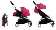 wózki  dziecięce - Zestaw kolorystyczny do gondoli Babyzen YOYO+ 0+ - różowy