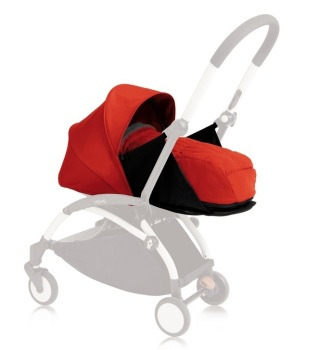 wózki  dziecięce - Zestaw kolorystyczny do gondoli Babyzen YOYO+ 0+ - czerwony
