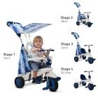 Pojazd/Rowerek Smart Trike Spirit - niebieski
