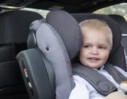 foteliki  samochodowe - Fotelik samochodowy BeSafe iZi Kid X2 i-Size - czarny cab - 64