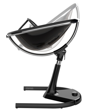 krzesełka - Krzesełko Mima Moon 2G - stelaż czarny