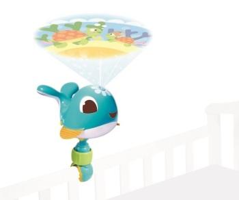 Projektor podróżny/Pozytywka - Wieloryb Cody