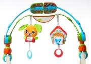 do wózka - Łuk z zabawkami - Spin'n'Kick