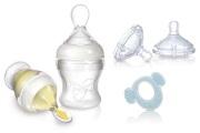 Zestaw do karmienia Infafeeder + smoczki na butelkę + gryzak