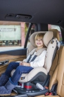 foteliki  samochodowe - Fotelik samochodowy BeSafe iZi Comfort X3 ISOfix - czarny melange - 01