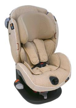foteliki  samochodowe - Fotelik samochodowy BeSafe iZi Comfort X3 - kość słoniowa - 03