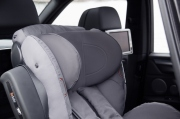 foteliki  samochodowe - Fotelik samochodowy BeSafe iZi Kid X2 i-Size - szary melange - 02