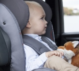 foteliki  samochodowe - Fotelik samochodowy BeSafe iZi Kid X2 i-Size - kość słoniowa - 03