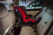 foteliki  samochodowe - Fotelik samochodowy BeSafe iZi Plus - kość słoniowa - 03