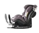 foteliki  samochodowe - Fotelik samochodowy BeSafe iZi Combi X4 ISOfix - kość słoniowa - 03