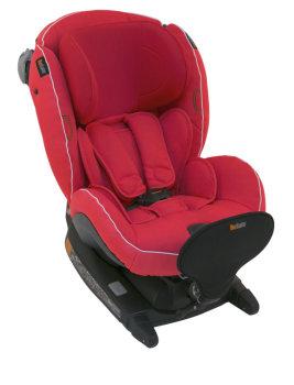 foteliki  samochodowe - Fotelik samochodowy BeSafe iZi Combi X4 ISOfix - zachód słońca - 07
