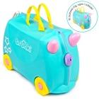 Jeżdżąca walizeczka - Jednorożec Una + naklejki