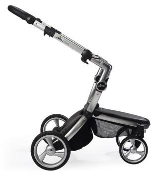 wózki  dziecięce - Stelaż mima Xari 3G i osłonka przeciwdeszczowa - Aluminium
