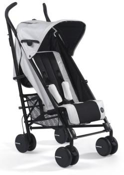 wózki  dziecięce - Wózek spacerowy mima Bo Snow White + osłonka przeciwdeszczowa