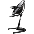 krzesełka - Krzesełko Mima Moon 2G - stelaż + podnóżek - czarny