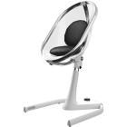 krzesełka - Krzesełko Mima Moon 2G - stelaż + podnóżek - biały