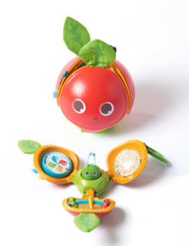 Interaktywne jabłuszko - Odkrywaj i baw się